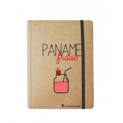 Carnet Paname Fraise