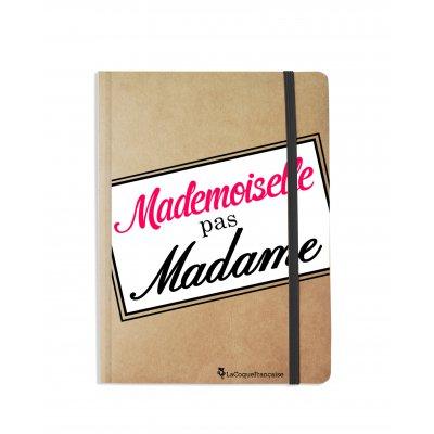Carnet Mademoiselle pas Madame