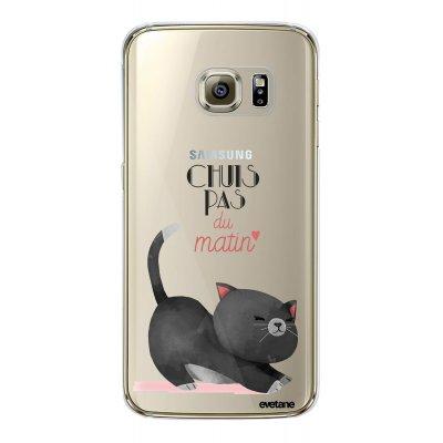 Coque souple transparent Chuis pas du matin Samsung Galaxy S6