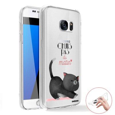 Coque intégrale 360 souple Chuis pas du matin Samsung Galaxy S6