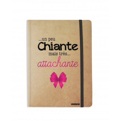 Carnet Un peu chiante tres attachante
