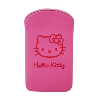 Etui pouch Hello Kitty Pastel fuschia Medium