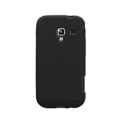 Coque de Protection Minigel noire Bi matieres Galaxy Ace 2