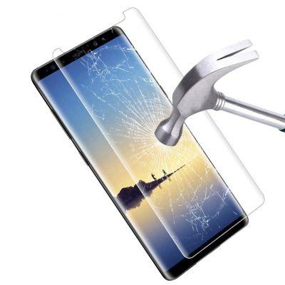 Vitre protectrice avant en verre trempé  pour Samsung Galaxy Note 8