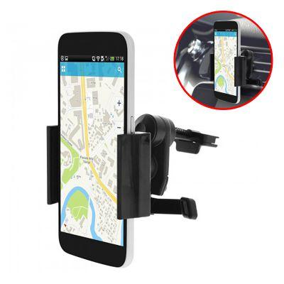 Support Voiture Smartphones Fixation Grille Aération - Bras extensibles