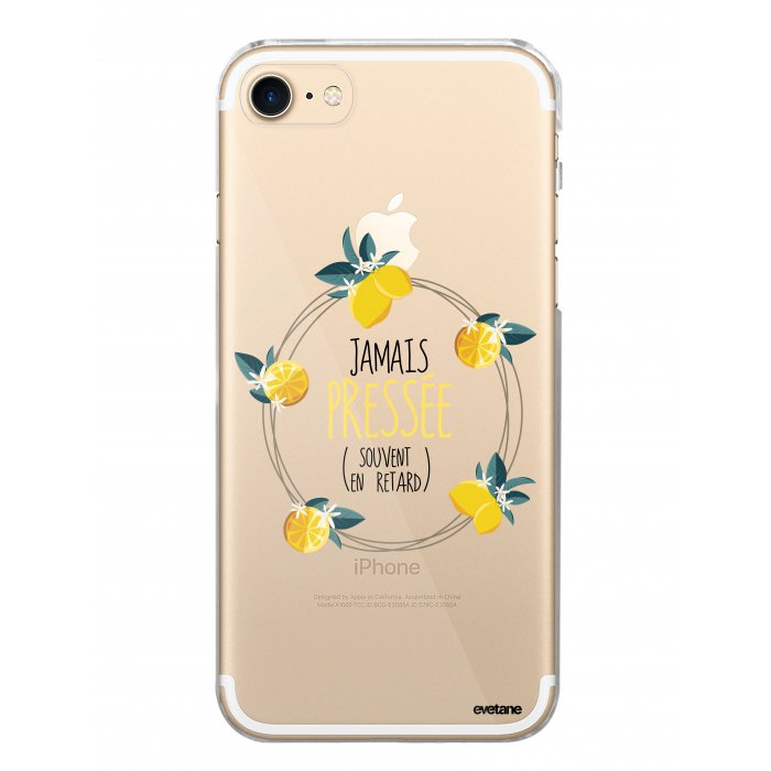 coque souple transparent jamais pressee iphone 7 iphone 8