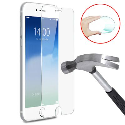 Vitre protectrice avant flexible en verre trempé pour iPhone 7 Plus