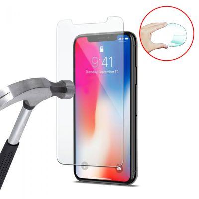 Vitre protectrice avant flexible en verre trempé pour iPhone X