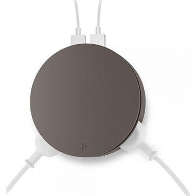 Prise  ronde design 4 EN 1.2 PORTS USB ET 2 PRISES 3.4 A