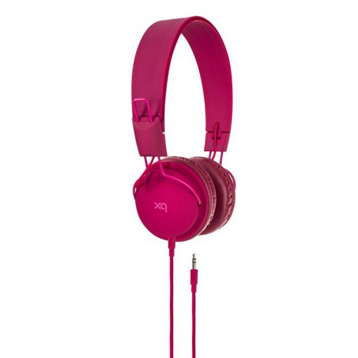 Casque audio pliable Xqisit over the ear violet