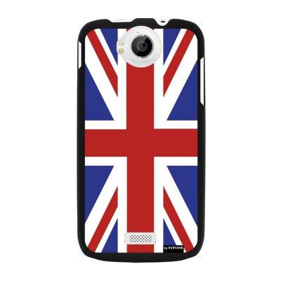 Coque drapeau UK pour Wiko Cink Peax