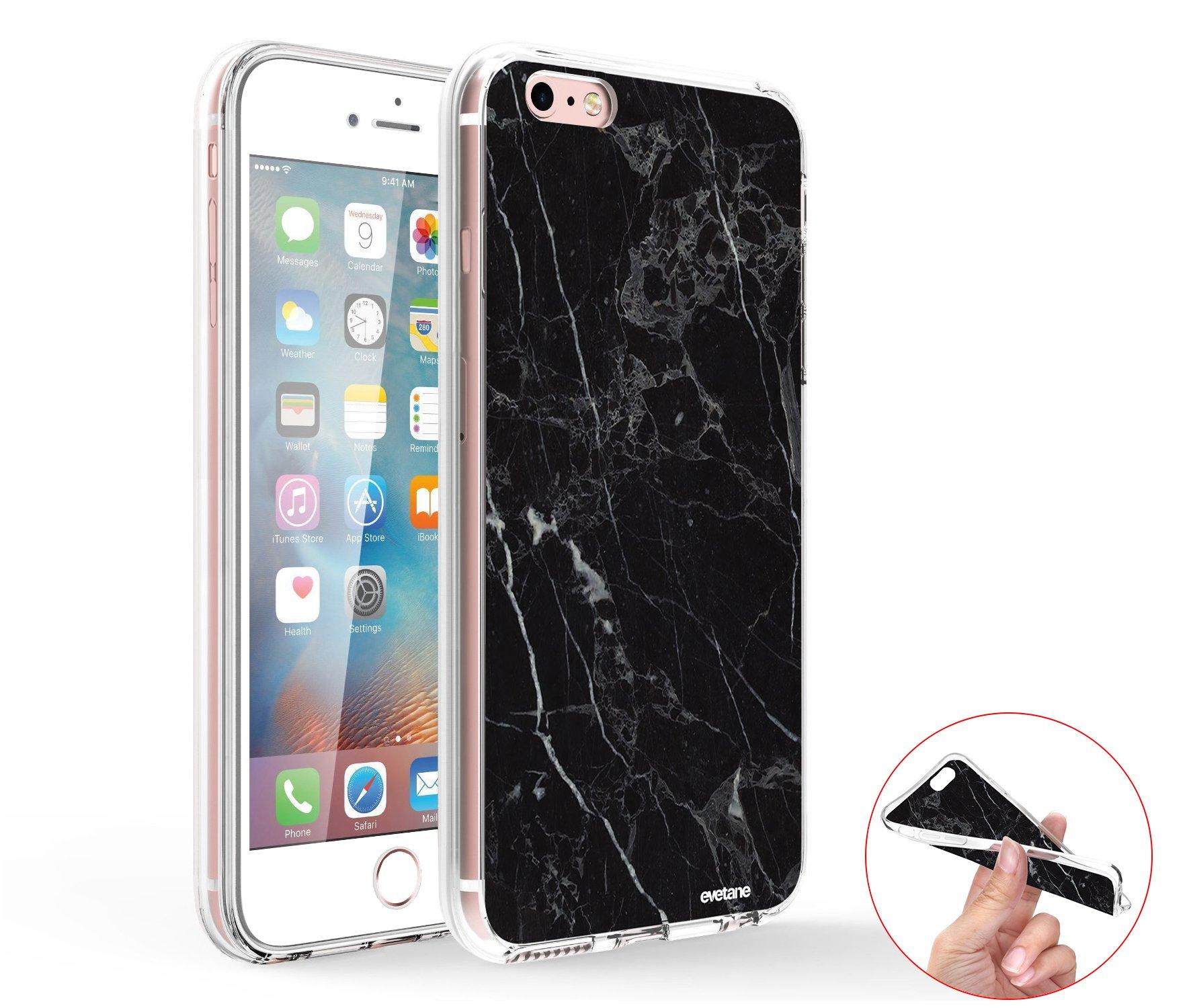 Coque iPhone 6 Plus / 6S Plus 360 intégrale transparente Marbre ...