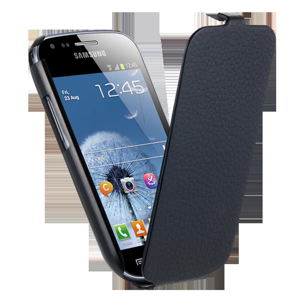 ANYMODE Etui coque Samsung noir pour Galaxy Trend S7560