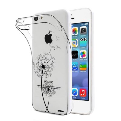 Coque souple transparent Pissenlit iPhone 5C