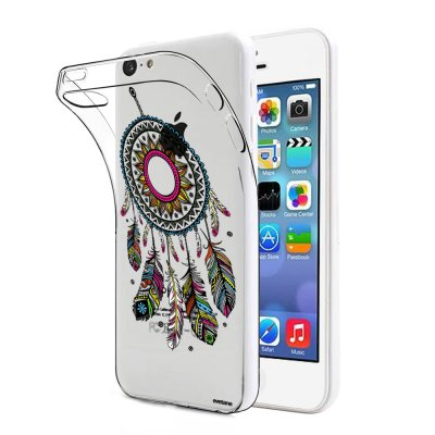 Coque souple transparent Attrape rêve iPhone 5C