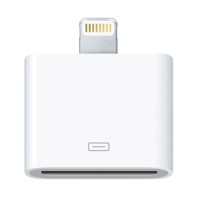 Adaptateur lightning Blanc iPhone 5 / 5C / 5S / iPad Mini