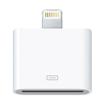 Adaptateur lightning Blanc iPhone 5 / 5C / 5S / iPad Mini