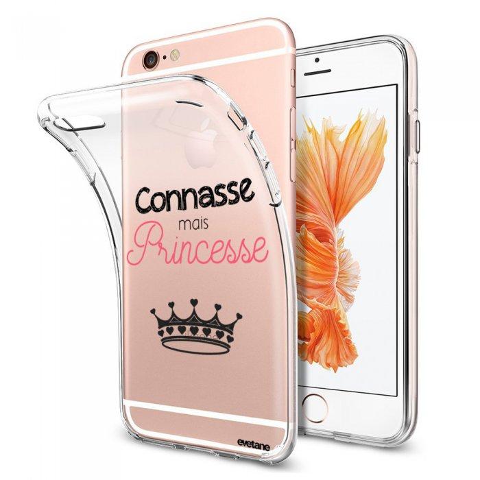 coque souple transparent connasse mais princesse iphone 6 plus 6s plus