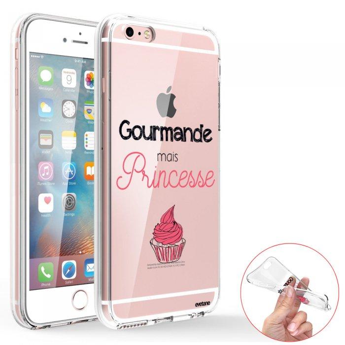 coque integrale 360 360 integrale transparente gourmande mais princesse iphone 6 plus 6s plus