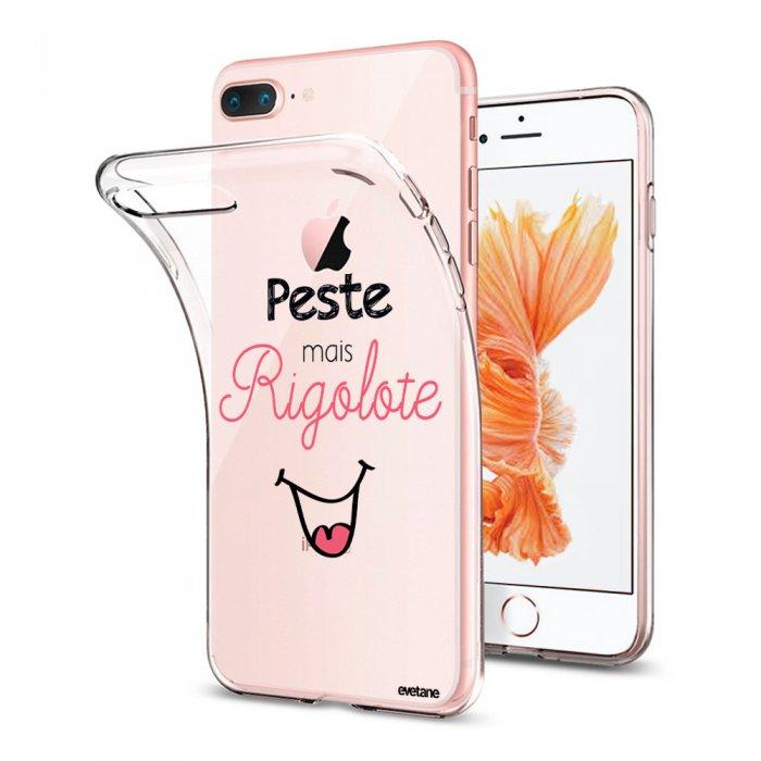 coque iphone 7 silicone rigolo