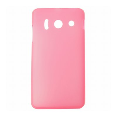Mocca coque Gel Frost Rose pour Huawei Ascend Y300