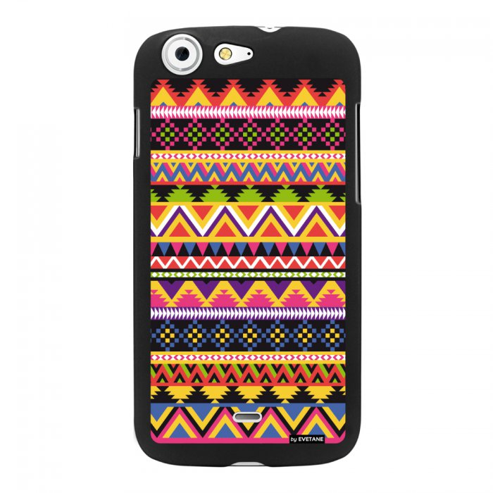 Coque azteque couleur pour Wiko StairWay