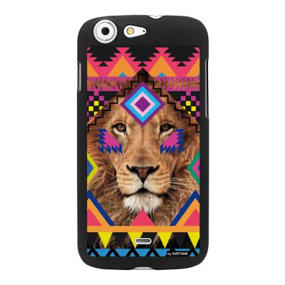 Coque lion azteque pour Wiko StairWay