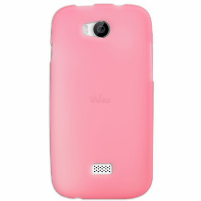 Mocca coque Gel Frost Rose pour Wiko Iggy