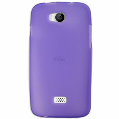 Mocca coque Gel Frost Violette pour Wiko Iggy