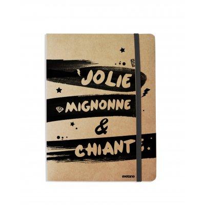 Carnet Jolie Mignonne et chiante