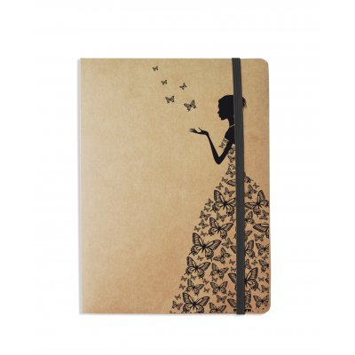Carnet Silhouette Papillons