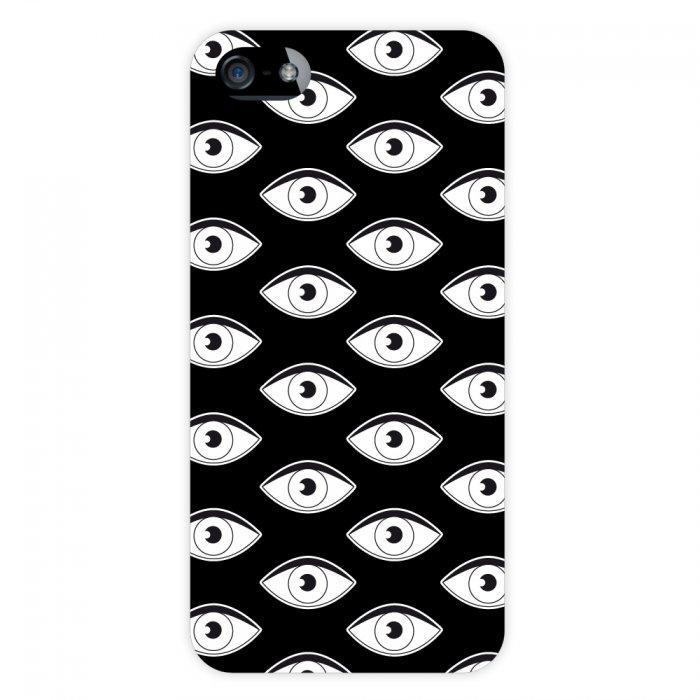 Coque rigide yeux pour iPhone 5 / 5S