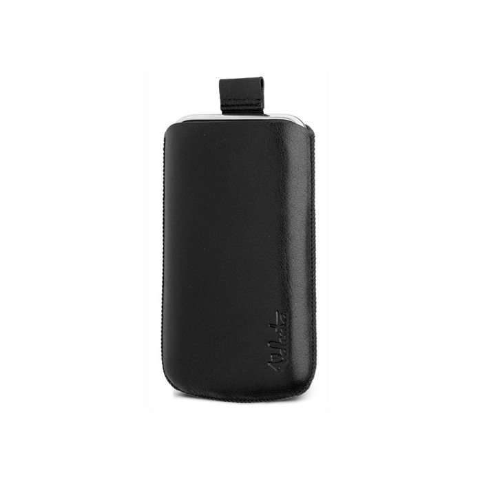 Valenta pocket etui cuir noir lisse iPhone 4/4S iPhone 3g 3gs