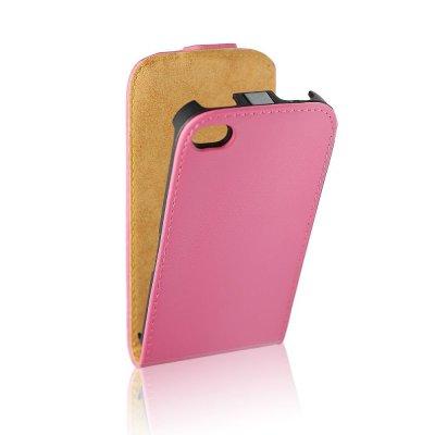 Forcell étui clapet en similicuir rose pour Samsung Galaxy Trend S7560 / Galaxy S Duos S7562
