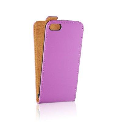 Forcell étui clapet en similicuir violette pour Samsung Galaxy Trend S7560 / Galaxy S Duos S7562