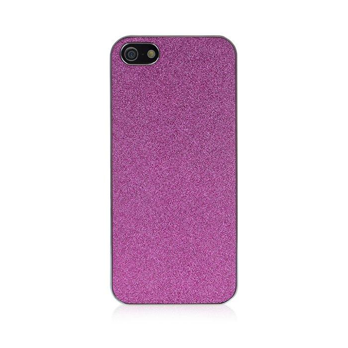 coque paillettes violette pour iphone 5 5s