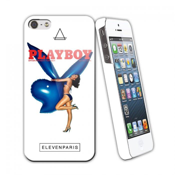 eleven paris coque playboy blue ballon pour iphone 5 5s
