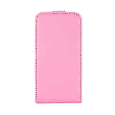 SWISS CHARGER Etui flip PU rose pour Samsung Galaxy Trend S7560 / S Duos S7562