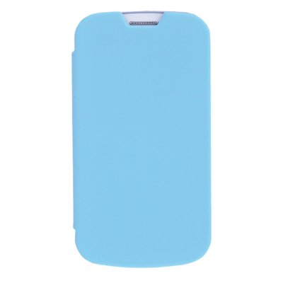 made in France étui coque bleu pour Samsung Galaxy Trend S7560 / S Duos S7562