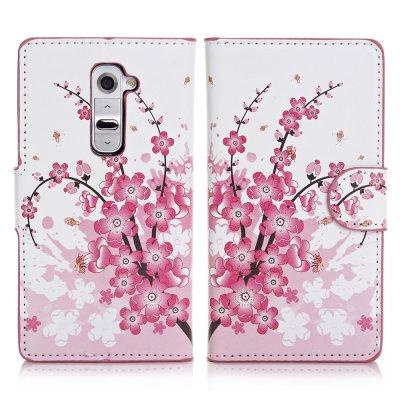 Etui livre Japan Flower pour LG Optimus G2