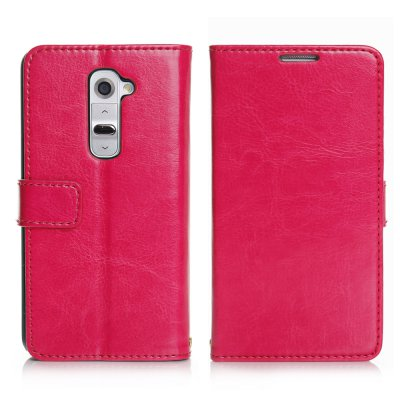 Etui livre rose pour LG Optimus G2