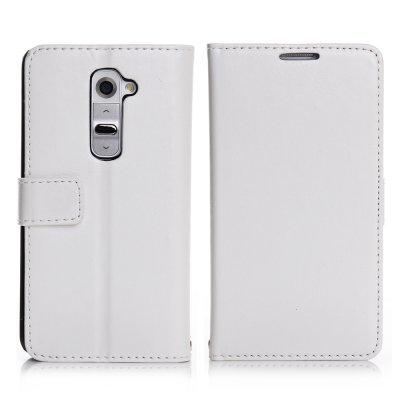 Etui livre blanc pour LG Optimus G2