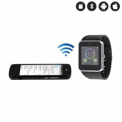 Montre connectée Bluetooth avec insert carte SIM Compatible iOs et Android