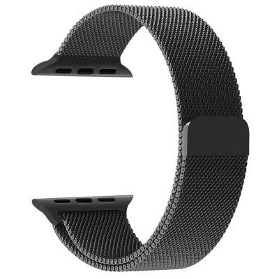 Bracelet Noir pour Apple Watch 42 mm (Vendu sans la montre)