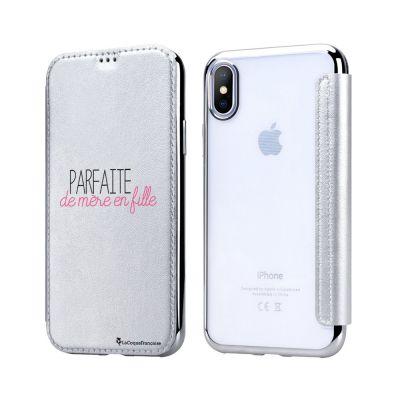 Etui iPhone X, Parfaite de mère en fille, La Coque Francaise®