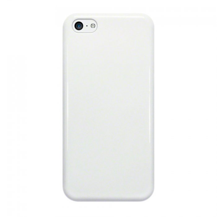 coque moxie skin glossy blanche pour iphone 5c