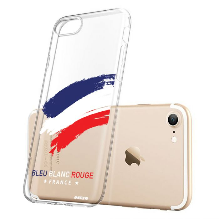 coque iphone 7 iphone 8 souple transparente france evetane