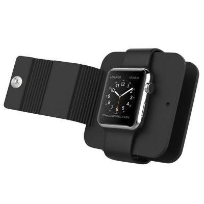 Housse Silicone de protection pour Apple Watch et cable de charge (non inclus)