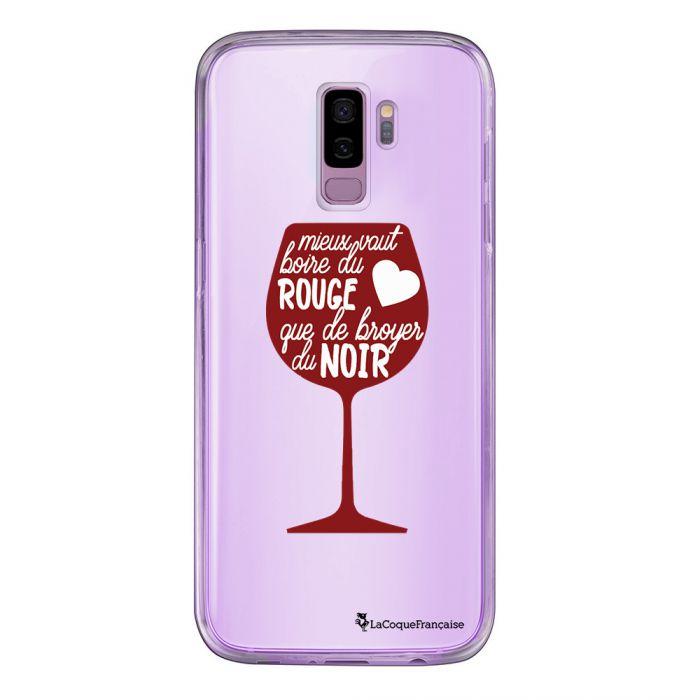Coque Samsung Galaxy S9 360 intégrale transparente Mieux Vaut Boire Tendance La Coque Francaise - Coquediscount