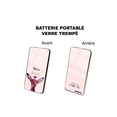 Batterie verre trempé  Yeux De Biche, Evetane®